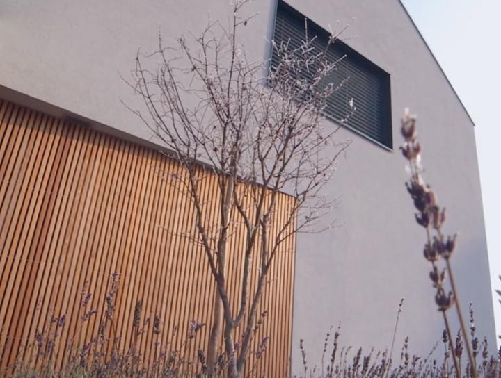 Lumar – Vzorčna hiša (zima)